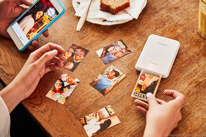Canon UK Announces Zoemini, the Brand's Smallest and Lightest Photo Printer
