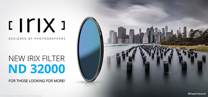 Irix Announces ND32000 Filter