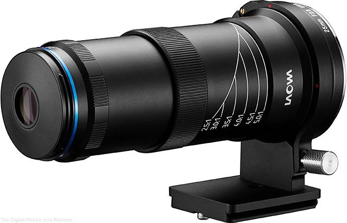 Venus Optics Announces Laowa 25mm f/2.8 2.5-5X Ultra-Macro Lens