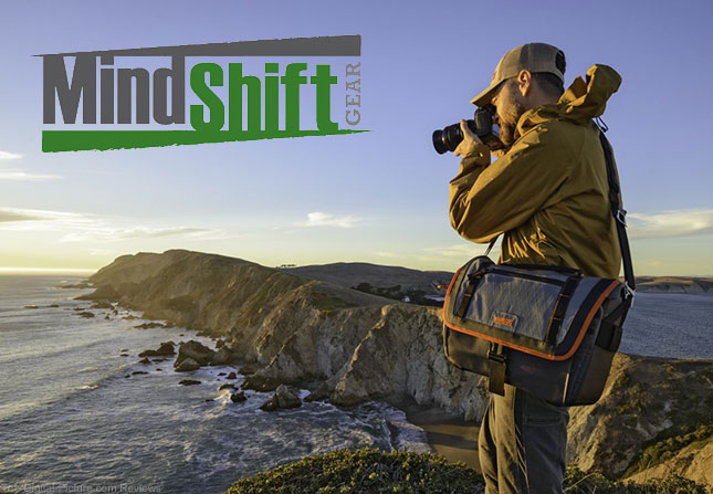 "MindShift Gear's ""Exposure"" Shoulder Bags Offer the Ultimate in Durability and Weather Protection for Outdoor Photographers"