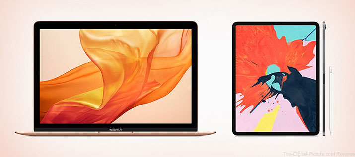 New Apple iPads and MacBook Air Notebooks Available for Preorder