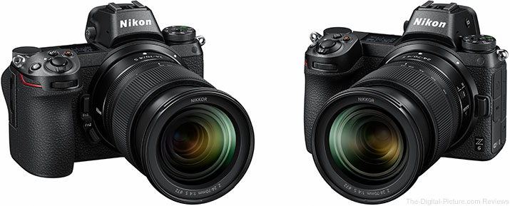 Nikon Introduces Two Full-Frame Mirrorless Cameras - Z 7 & Z 6