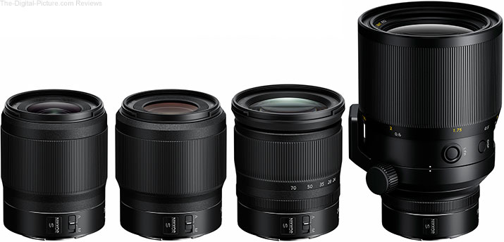 Nikon Z-Mount S-series Lenses (August 2018 Announcement)
