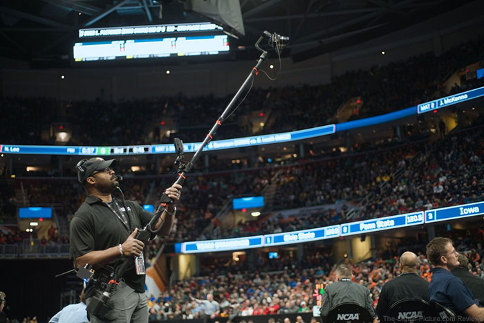 Redrock Micro Digiboom In-Use at NCAA Finals
