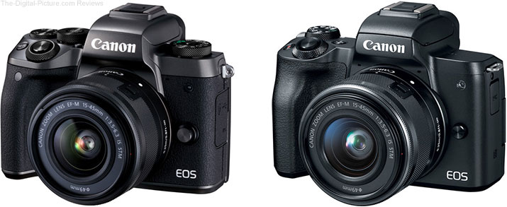 Should I Get the Canon EOS M5 or the EOS M50 Mirrorless Camera?