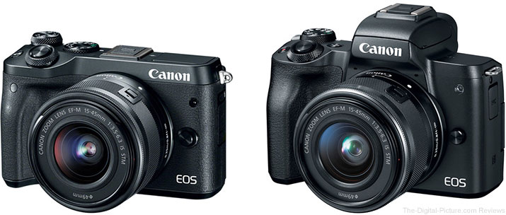 Should I Get the Canon EOS M6 or the EOS M50 Mirrorless Camera?