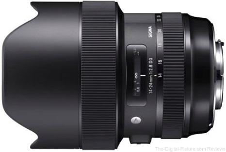 SIGMA Announces Development of the 14-24mm f/2.8 DG HSM Art Lens