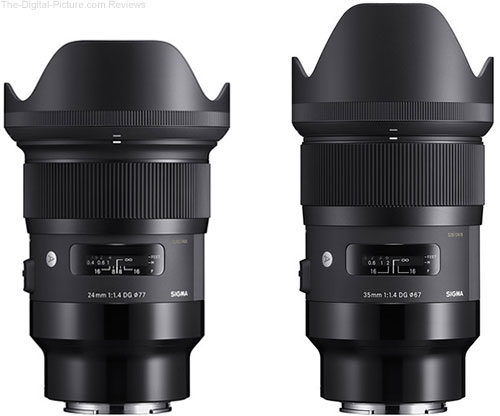 Sigma 24mm & 35mm Art Lenses for Sony E to Begin Shipping Next Month