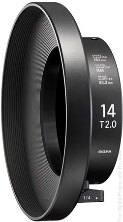 Simga Clamp-On Ring 162mm COR-11 for Cine 14mm T2 FF Lens