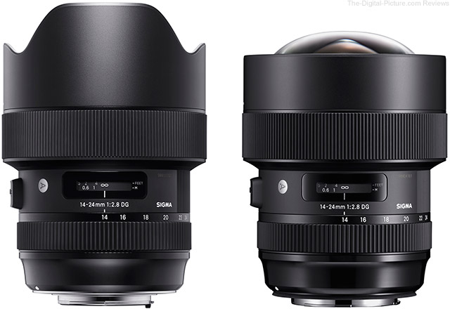 Sigma to Offer 14-24mm f/2.8 Art Lens Hood Conversion Service