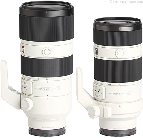 Should I Get the Sony FE 70-200mm f/2.8 GM OSS or Sony FE 70-200mm f/4 G OSS Lens?