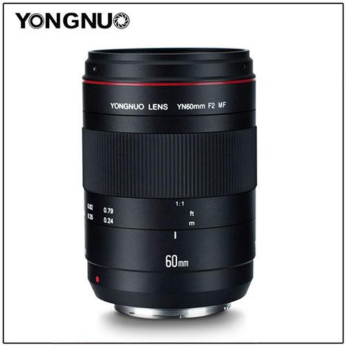 Yongnuo Set to Release YN60mm f/2 MF Macro Lens