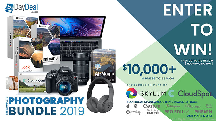 5DayDeal Complete Photography Bundle 2019 Giveaway is Live