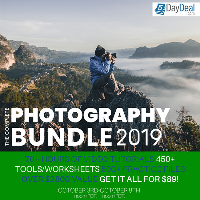 5DayDeal Photography Bundle 2019