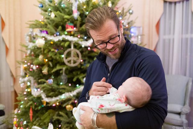 Abby Holding OJ Christmas 2018