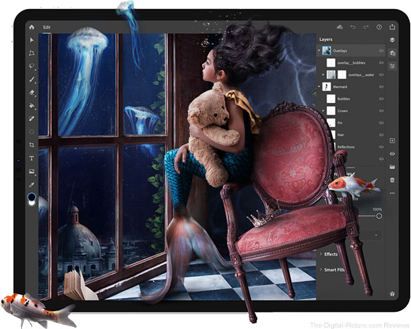 Adobe Releases Photoshop for iPad