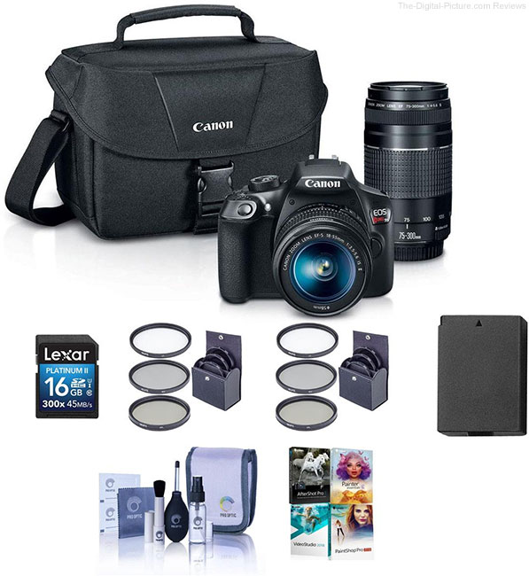 Adorama Canon EOS Rebel T6 Bundle