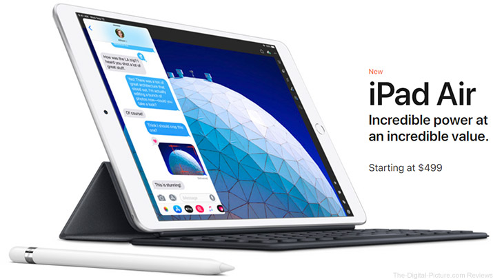 New Apple iPad Air and Mini Models Available for Preorder at B&H