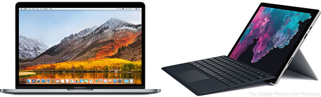 Apple or Microsoft Notebook Computer