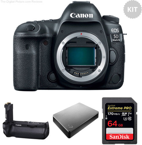 Canon EOS 5D Mark IV Storage Bundle