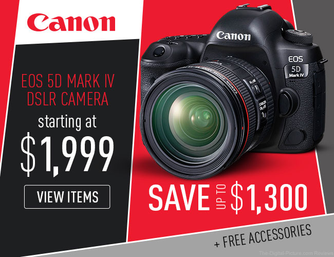 Canon EOS 5D Mark IV Deal