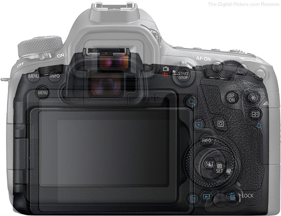 Canon EOS RP Compared to Canon EOS 6D Mark II