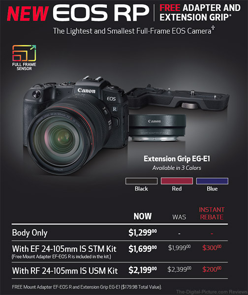 Canon EOS RP Promotion Poster Feb Mar 2019