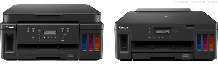 Canon Announces Two New PIXMA G-Series MegaTank Printers - PIXMA G6020 and PIXMA G5020