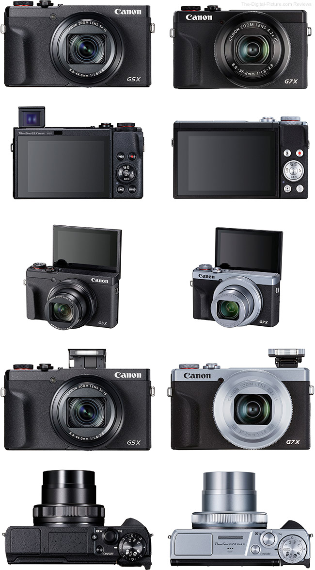 PowerShot G7 X III and PowerShot G5 X Mark II