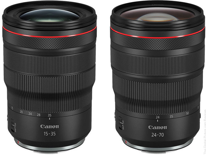 Canon RF 15-35 & 24-70mm F2.8 L IS USM Lenses In Stock at B&H