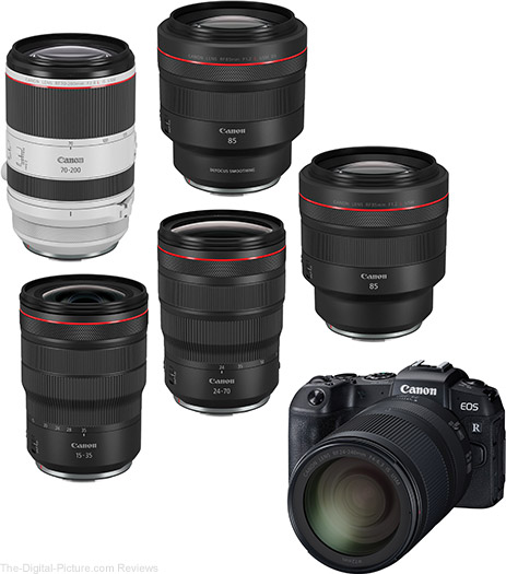 Canon Announces Six New RF Lenses Under Development