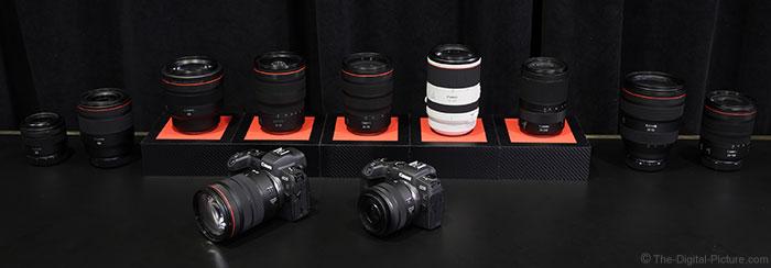 Canon RF Lenses 2019