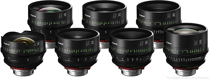 Canon Introduces Sumire Prime Lenses