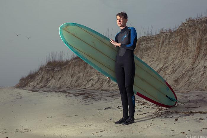 Dagny: A Surfer in Savannah