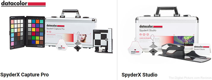 Datacolor Launches SpyderX Capture Pro and SpyderX Studio