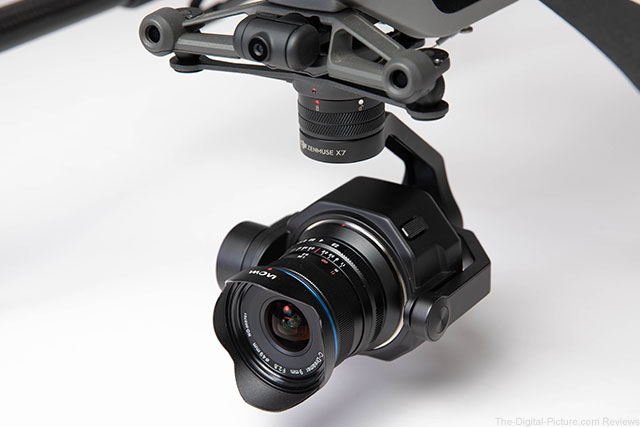 Laowa Announces 9mm f/2.8 DL Zero-D Lens for DJI Inspire 2 Drones