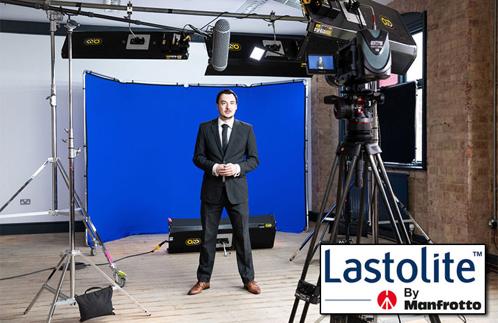 Lastolite Announces Launch of the Panoramic Background 13' Chroma Key Blue
