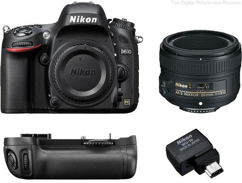 Nikon D610 Bundle