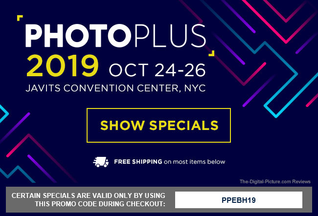PhotoPlus Expo 2019 Deals at B&H