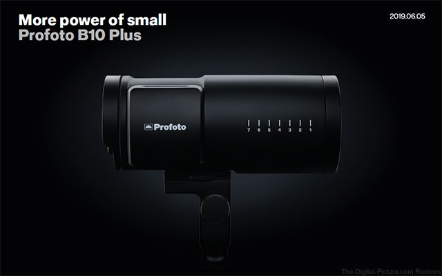 Profoto B10 Plus Announcement