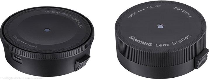 B&H has Rokinon/Samyang Lens Stations for Canon EF In Stock