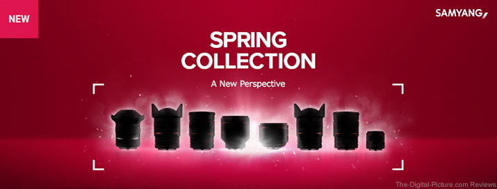 Samyang Spring 2019 Lens Collection Teaser