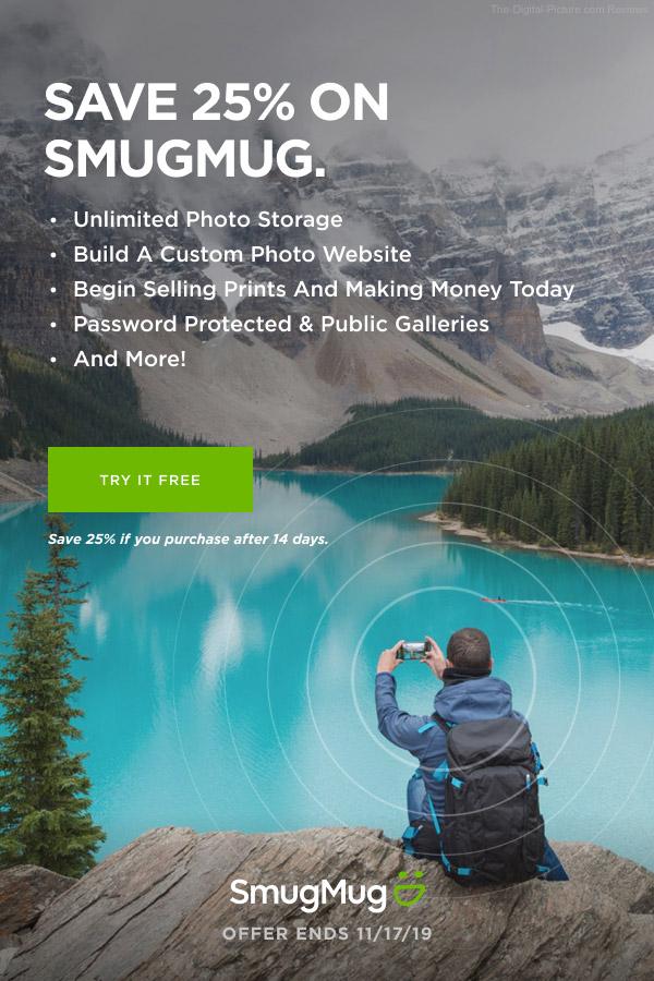 SmugMug Offer for Oct 2019