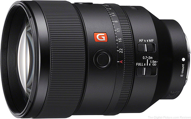 Sony 135mm f/1.4 GM Lens