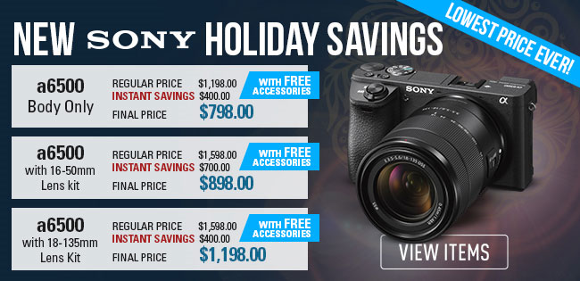 Sony a6500 Deals