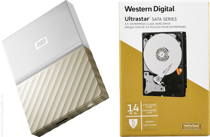 WD Hard Drive Deals at B&H