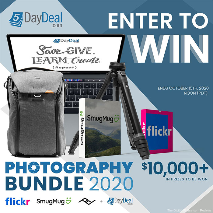Enter to Win: 5DayDeal Complete Photography Bundle $10,000.00 Giveaway