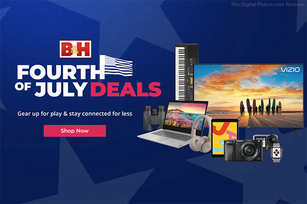 B&H July 4th Sale