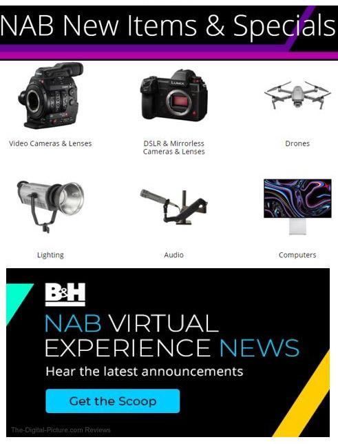 B&H NAB Virtual Experience