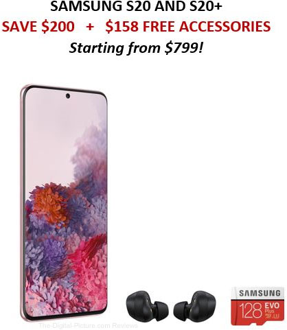 Samsung S20 and S20+ Sale